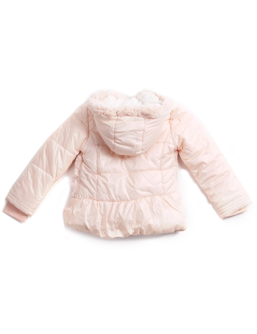 17df157f5421 Billieblush Girls Padded Fur Puffer Jacket