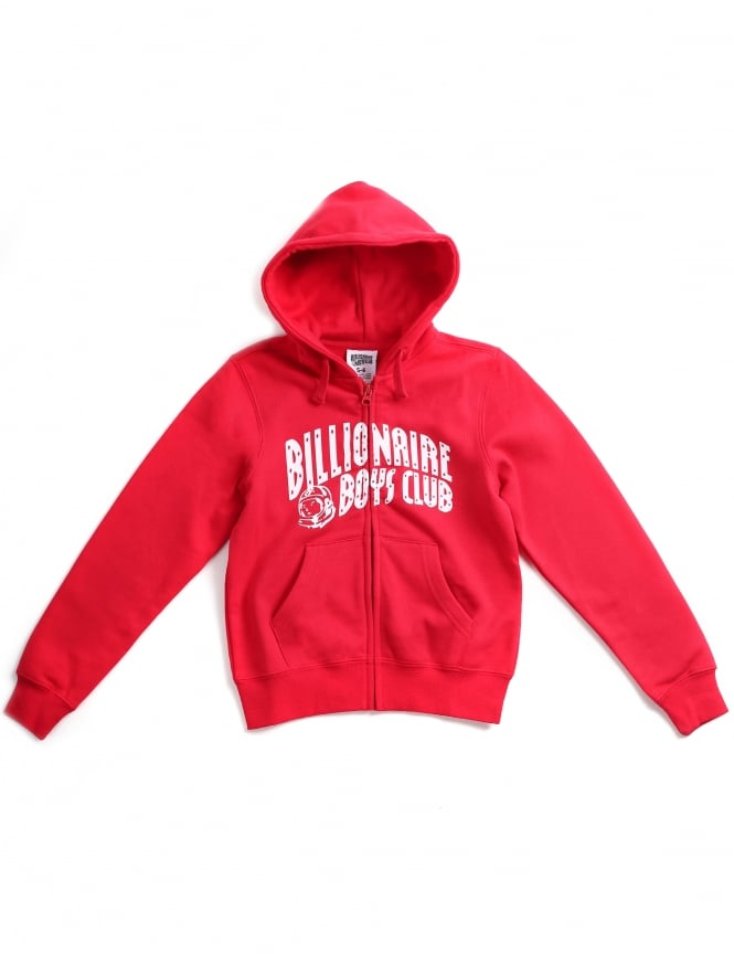 Billionaire Boys Club Logo Arch Boys Zip Hoodie