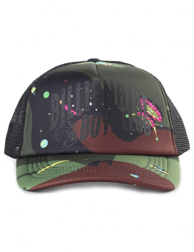 Billionaire Boys Club Men's Camo Arch Tracker Cap