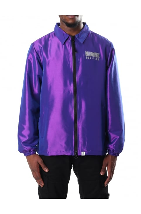 Men's Iridescent Zip Jacket