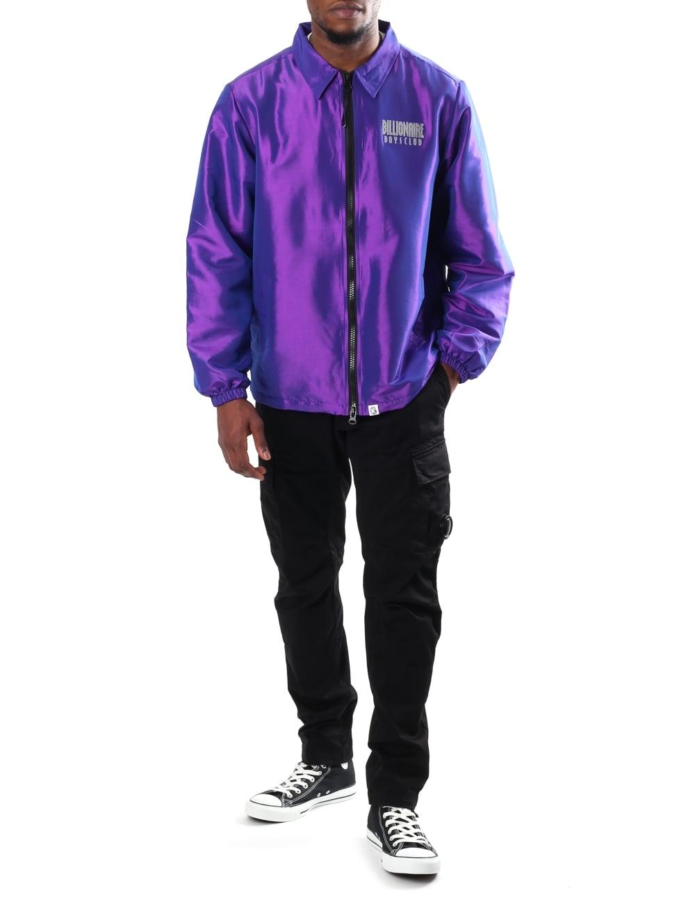 8528548c85cb Billionaire Boys Club Men s Iridescent Zip Jacket