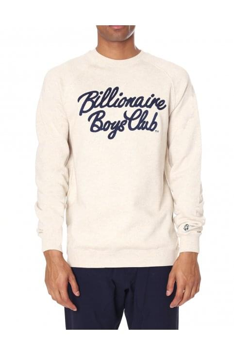 Men's Script Crew Neck Sweat Top
