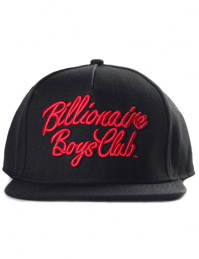 Billionaire Boys Club Men's Script Logo Snapback