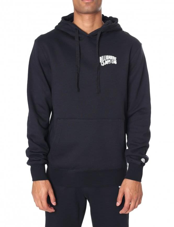 Billionaire Boys Club Men's Small Arch Logo Hooded Sweat Top