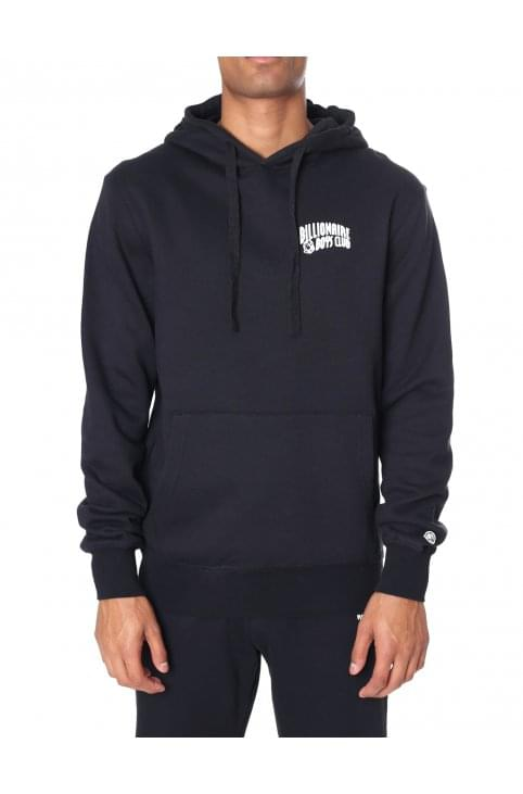 Men's Small Arch Logo Hooded Sweat Top