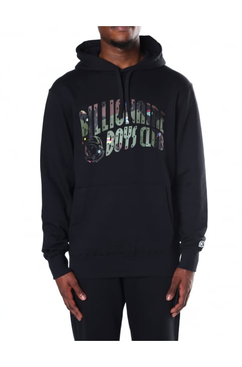 Men's Space Camo Arch Logo Popover Hooded Sweat Top