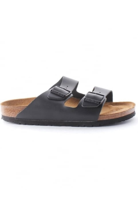 Arizona Women's Classic Two Strap Sandal Black