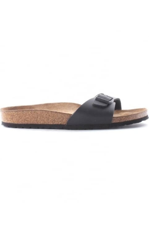 Madrid Classic Women's Single Strap Sandal Black