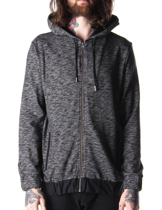 Blood Brother Super Men's Hooded Sweat Top Grey