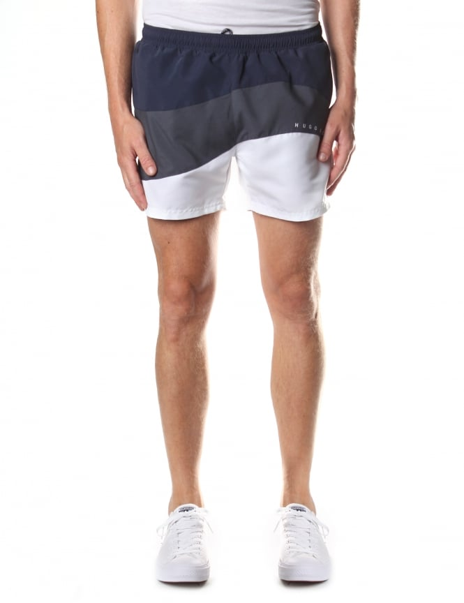 Boss Black Butterflyfish Men's Tie Waist Swim Shorts