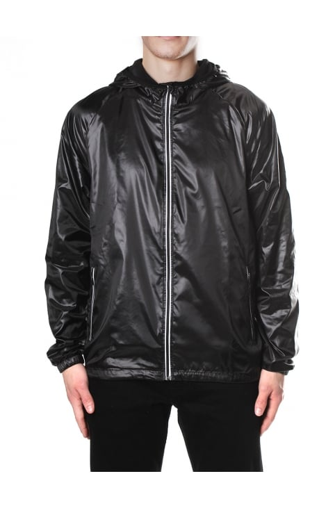 Hooded Men's Zip Through Beach Jacket