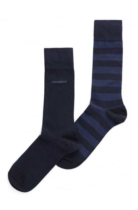 Men's 2 Pack Cotton Socks