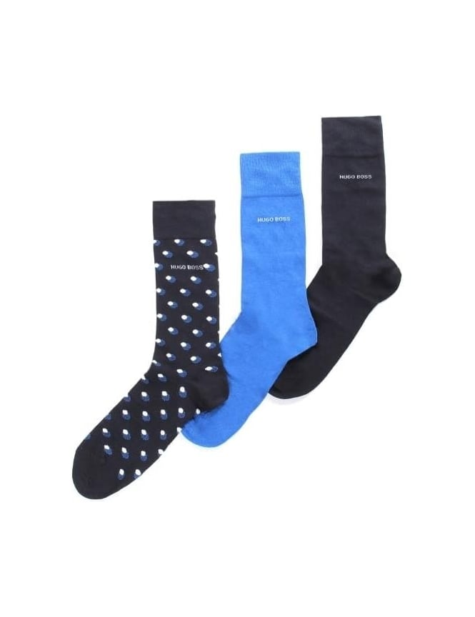 Boss Black Men's 3 Pack Socks