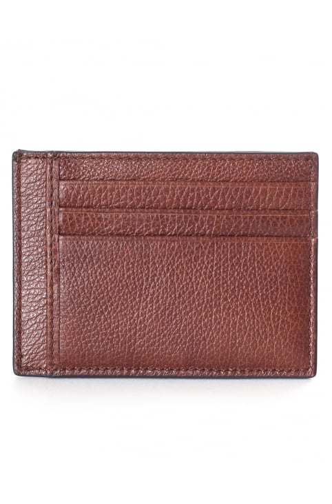 Men's Grained Leather Card Holder