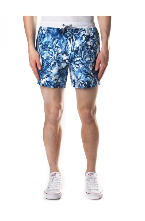Men's Mandarin Fish Quick Dry Swim Shorts