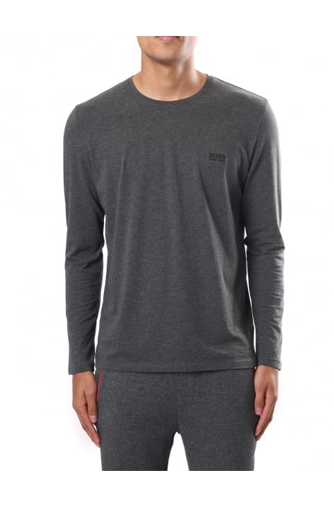 Men's Regular Fit Crew Neck Long Sleeve Tee