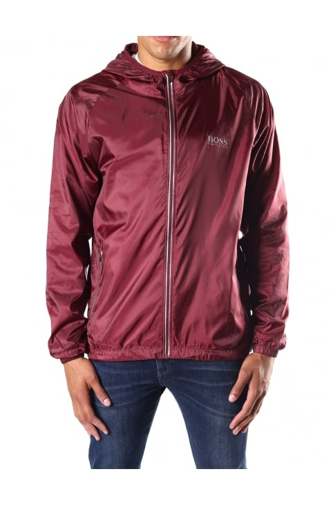 Men's Zip Through Hooded Beach Jacket