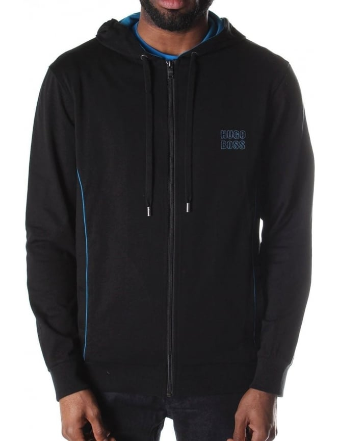 Boss Black Men's Zip Through Hooded Sweat