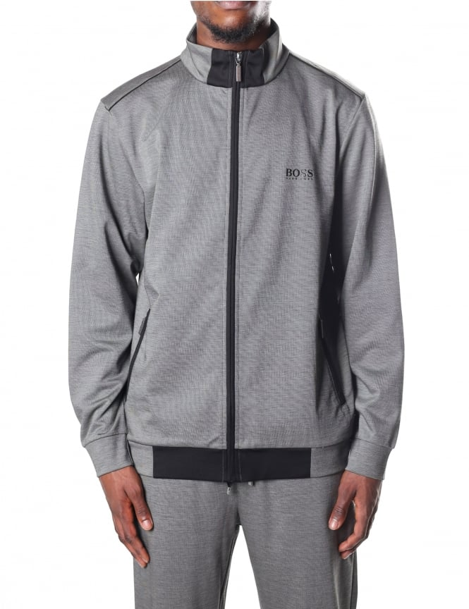 Boss Black Men's Zip Through Sweat Jacket
