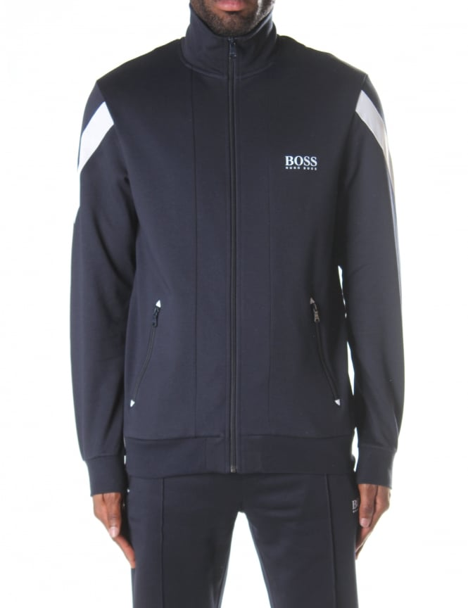 Boss Black Men's Zip Through Sweat Top