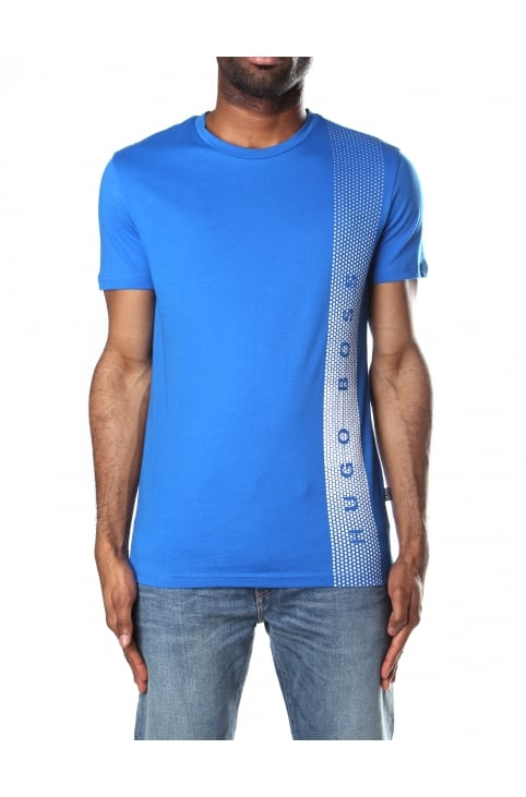 RN Men's Slim Fit T-shirt Bright Blue