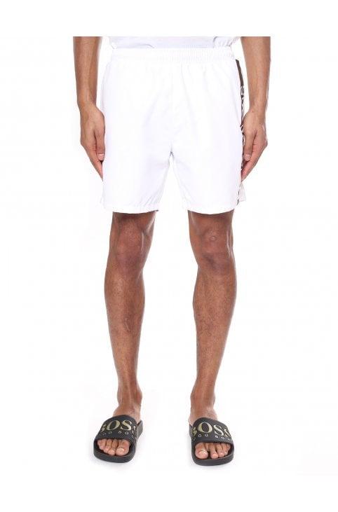 7b569cb62 'Dolphin' Logo Print Swim Shorts · Boss Bodywear Men's ' ...