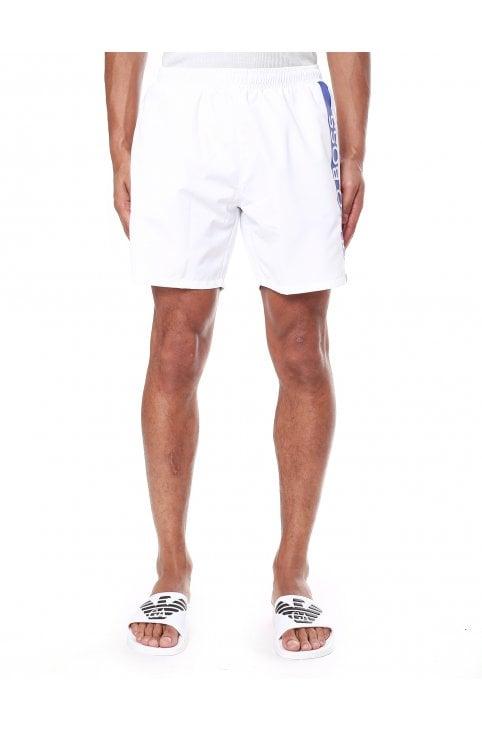 84f52da8ca Dolphin Logo Print Swim Shorts. Boss Bodywear Men's ...