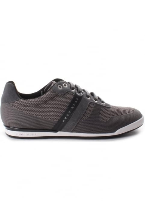 Arkansas Low Top Men's Trainer Dark Grey