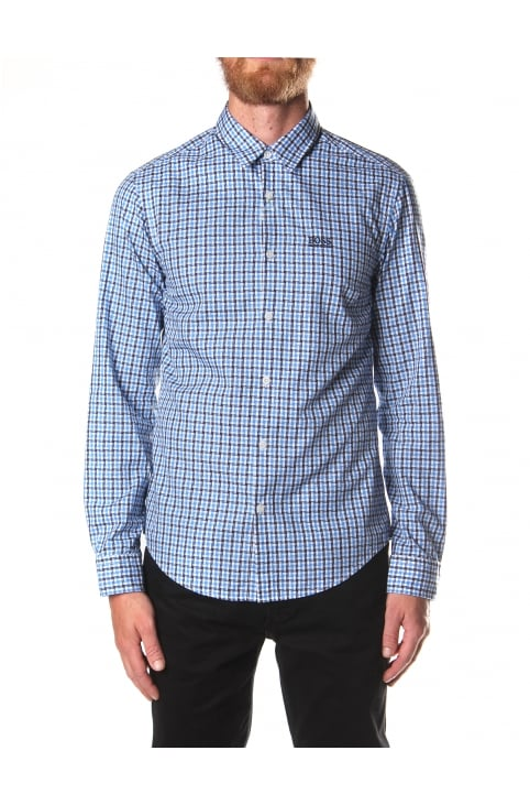 C-Buster Men's Checked Long Sleeve Shirt