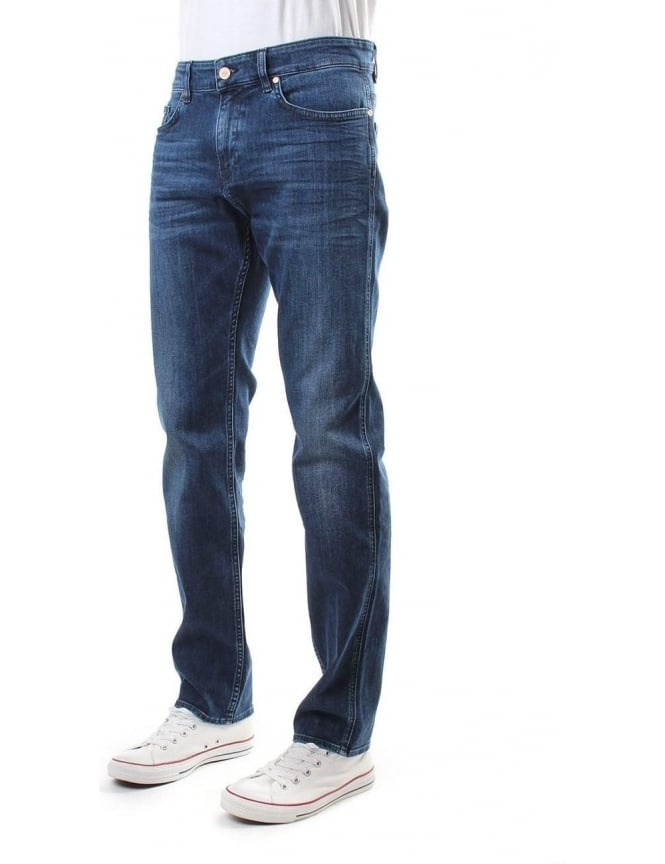 Boss Green C-Delaware1 Slim Fit Jean Indigo