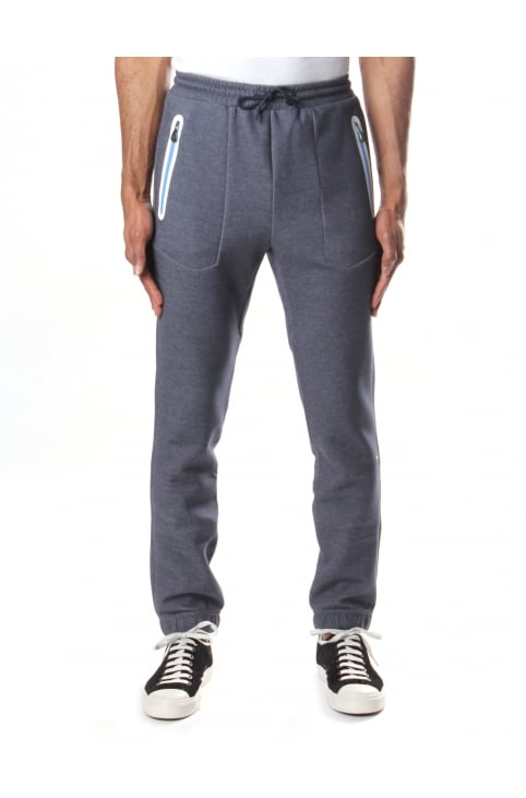Heacho Men's Tie Waist Sweat Pants