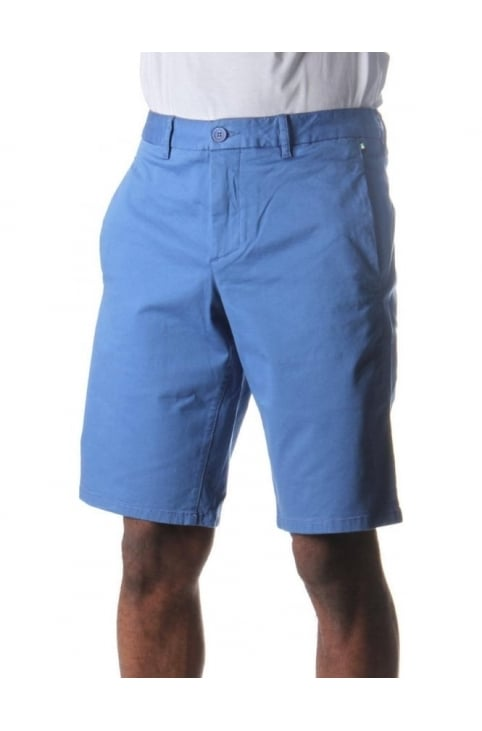 Liem1-W Men's Chino Shorts Open Blue