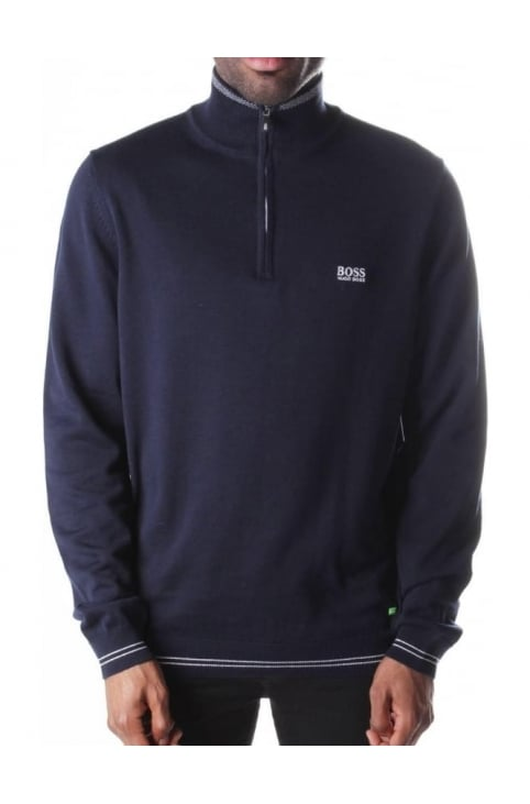 Men's Zime Zip Neck Pullover Knit