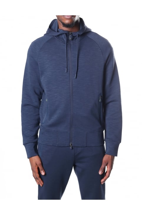 Men's Zip Through Hooded Sweat Top