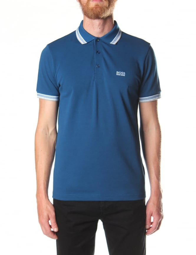 Boss Green Paddy Short Sleeve Men's Polo Top