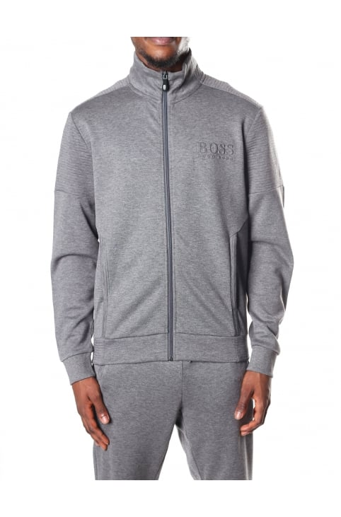 Skaz Men's Regular Fit Zip Through Sweat Top