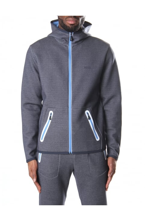Skeach Men's Zip Through Hooded Sweat Top