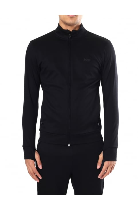 SL-Tech Men's Slim Fit Zip Through Sweat Top