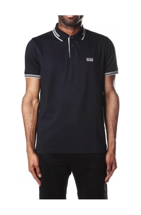 Slim Fit Short Sleeve Men's Polo Top