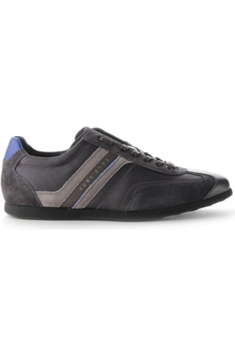 Stiven Suede Detail Men's Trainers Charcoal