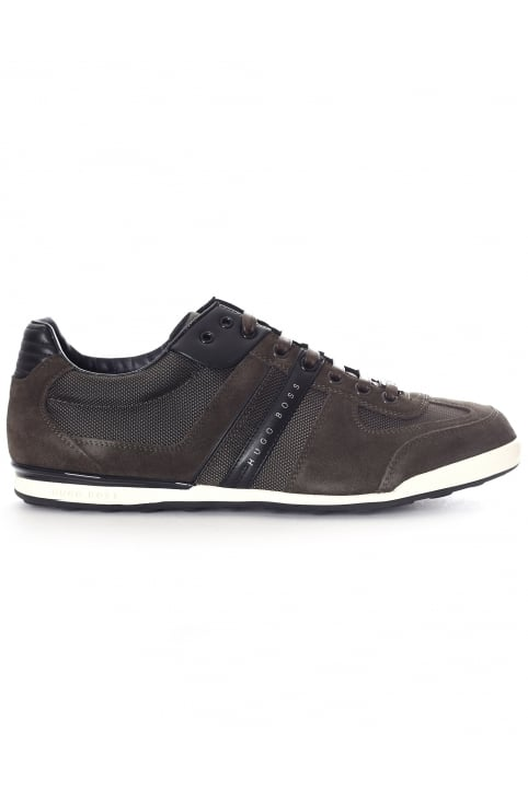 Suede Detail Men's Lace Up Trainer