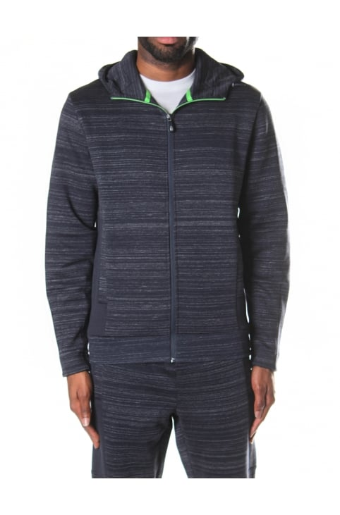 Sverre men's Zip Through Hooded Sweat Top