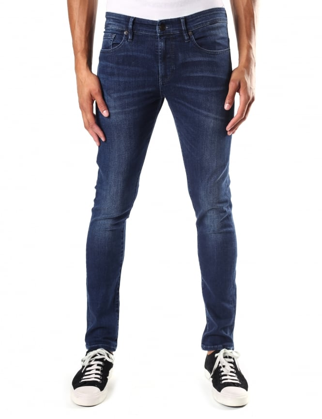 Boss Orange Men's Skinny Fit Orange72 Jean
