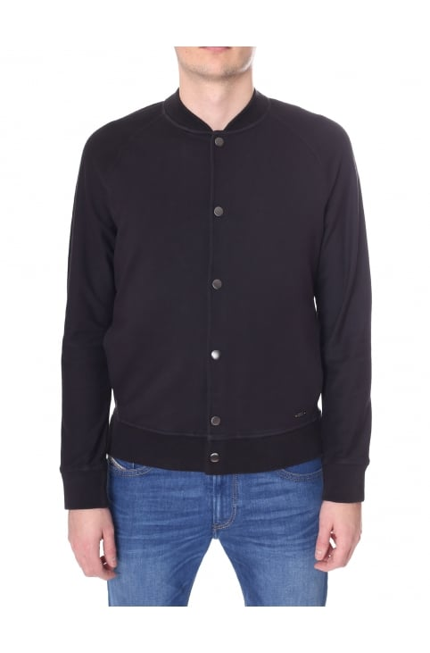 Men's Weslie Regular Fit Button Through Bomber