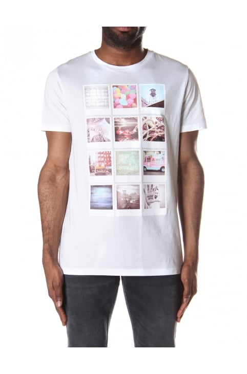 Totally 2 Men's Polaroid Print T-Shirt