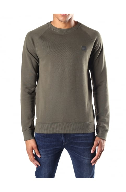 Wheel UK Men's Crew Neck Sweat Top