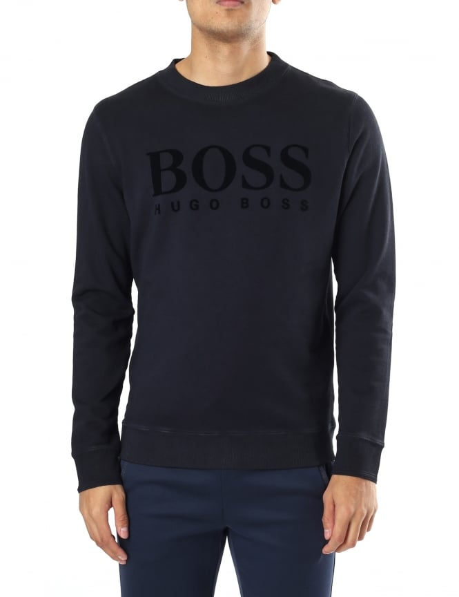 Boss Orange Wlan Men's Relaxed Fit Sweat Top