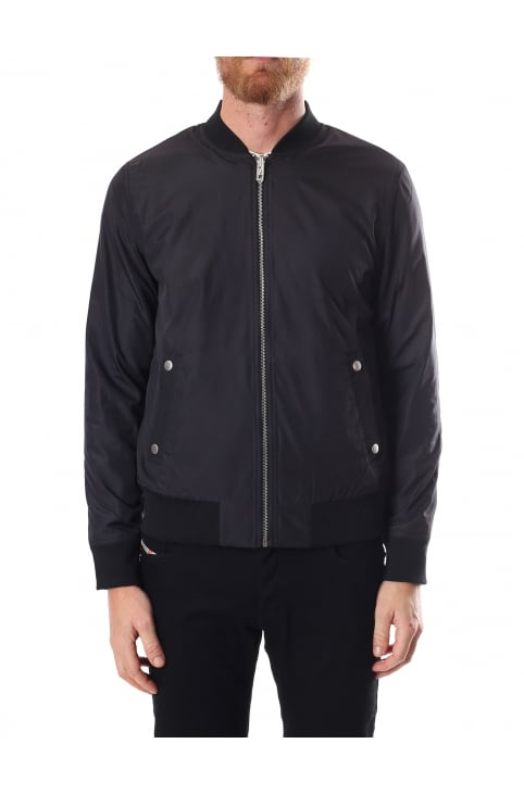 Ztraight Men's Zip Through Bomber Jacket
