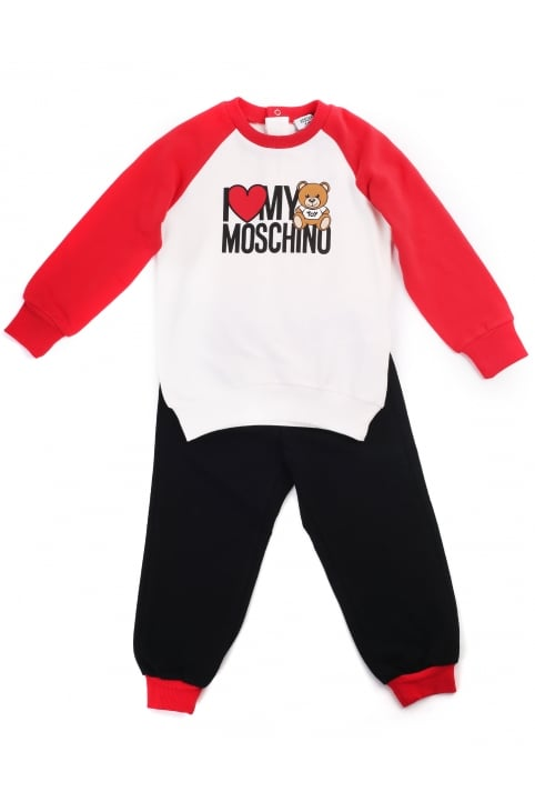 Boys I Love My Moschino Tracksuit