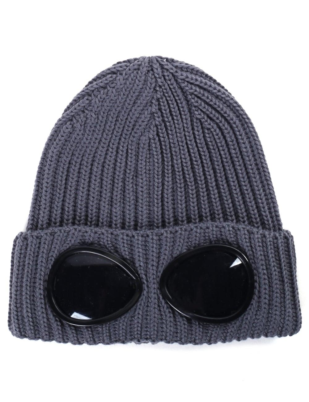 4f9207cadc2 C.P. Company Boys Goggle Beanie Hat